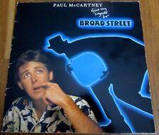 Paul McCartney  :  Give My Regards To Broad Street   -  LP  (1984)