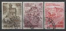 """No: 62407 - SAN MARINO (ITALY) - """"CYCLING"""" - LOT OF 3 OLD STAMPS - USED!!"""