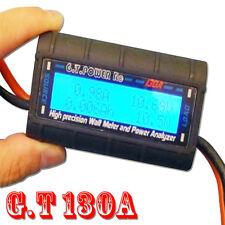 G.T. POWER High Precision 130a vatímetros and Power Analyzer tester RC Model B