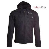 Bull-it Men's Carbon 17 SR6 Jacket Men's Motorcycle jacket with Hood