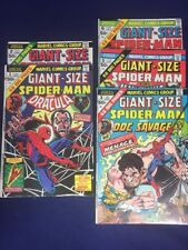 Giant Size Spider-Man 1,2,3,5,6 Marvel 5 Issue Lot ***Ships Free