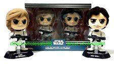 Hot Toys Star Wars Luke Skywalker  & Han Solo Cosbaby  Stromtrooper Disguise ver