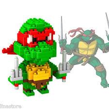 Raphael - Teenage Mutant Ninja Turtles - Loz Nano Mini Blocks Red Turtle