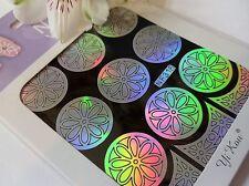 Nail Art Vinyl Manicure Stencils Guide Flower Daisy Style Manicure Sticker N316