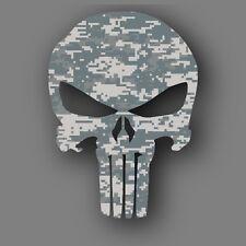 "Punisher Army ACU Camo Military Die Cut Decal Sticker Car Truck 5"""
