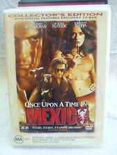 ONCE UPON A TIME ON MEXICO COLLECTORS EDITION JOHNNY DEPP  DVD MA R4