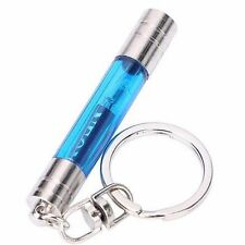 Useful Car Keychain Built-in LED Emitter Anti Static Touch Pen KeyRing Chain ✿
