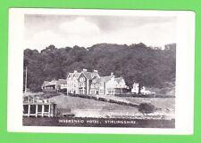 Vintage Postcard. The Inversnaid Hotel, Stirlingshire, Scotland.