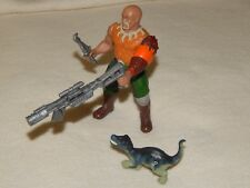 "JURASSIC PARK Evil Raiders ""Skinner"" & Accessories w/ Baby Hatchling Baryonyx"