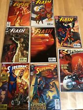 Flash 207 208 209 210 211  Superman 203 625 Action Comics 812 2004 Turner Covers
