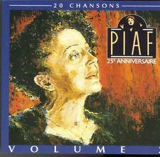 Edith Piaf 25e anniversaire-20 chansons 2 [CD]
