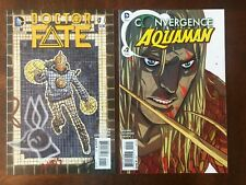 Doctor Fate (2015) 1 + Convergence Aquaman 2 NM 1st appearance of Khalid Nassour
