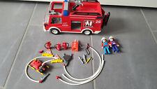 Feuerwehr Playmobil mit Zubehör und Beleuchtung