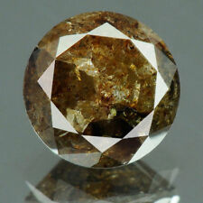 pierre precieuse diamant de couleur marron certifie