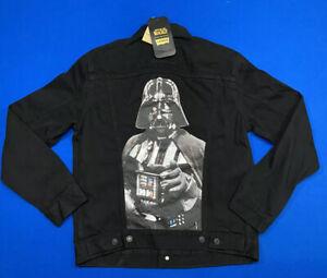 Levi's x Star Wars Darth Vader Denim Jean Trucker Jacket Men's SZ 2XL Black New!