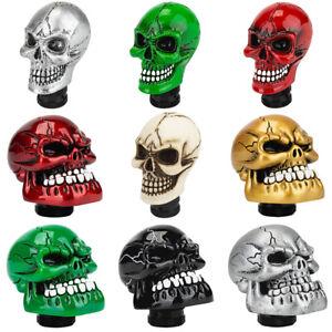 Skull Head Shift Knob Car Lever Shifter Manual MT Speed Gear Stick Handle AUTO
