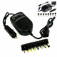80W Universal Laptop Car Charger Travel Adapter 12V for Dell Hp Toshiba Sony