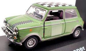 Cararama 1/43 Scale Model Car 17 Green - Mini Cooper - Green