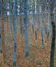 Gustav Klimt Beech Grove Painting Cotton CANVAS Print Art Decor HQ Small 8x10