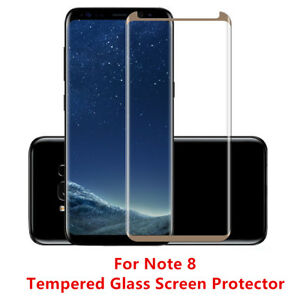12 Pcs Anti Scratch For Samsung Galaxy Note 8 Tempered Glass Screen Protector GD
