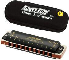 More details for east top diatonic harmonica in c blues harp diatonic mouth organ harmonica c key