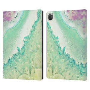 OFFICIAL MONIKA STRIGEL AMETHYST LEATHER BOOK CASE FOR APPLE iPAD