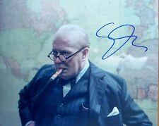 GARY OLDMAN: Hand signed 10 x 8 photo as Churchill from 'Darkest Hour'. COA.
