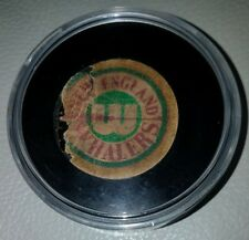 New England Whalers  WHA vintage  Official game Puck Hartford SCARCE OLD USED
