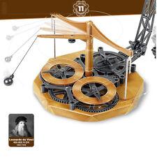 ACADEMY DIY Pendulum Clock Model Kit Wooden Reproduction Da Vinci Working models