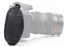 Bracelet Poignée Courroie Cuir Dragonne Sangle Caméra Appareil Pr Canon Sony NF