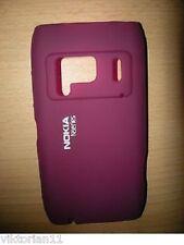 Nokia N8 CC-1005 Silikon Schutz Hülle Cover Etui Tasche Silikontasche N8-00 Lila