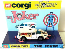 CORGI Juniors Batman THE JOKER Diecast JOKERMOBILE Model Car & Custom Display [f