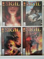 Sigil 1 2 3 4 Crossgen Complete Set Series Run Lot 1-4 FN/VF