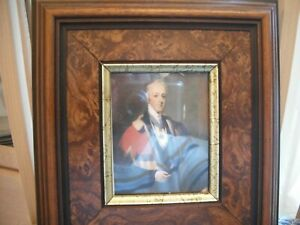 Lovely little picture of Lord Beeborough in a beautiful frame approx 4 inch