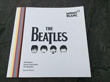 Montblanc Beatles Great Characters Dealer Brochure Booklet Documents