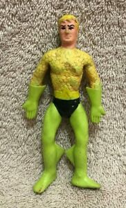 Vintage 1973 Mego WGSH AQUAMAN Bend 'n Flex Bendie Action Figure