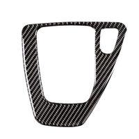 Gear Shift Panel Cover Carbon Fiber Decorative Trim for BMW E90 E92 2005-2012