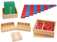 Pinkmontessori Material- Essential Mathematics I - Learning Numbers 1 to 10