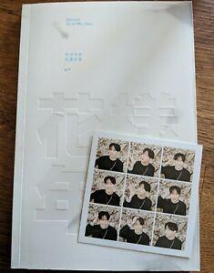 Bts- 3rd mini Album Hyyh part 1[white version] + J-Hope Photocard