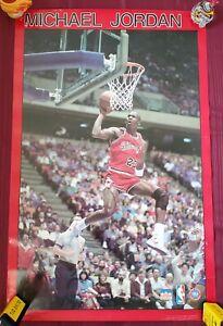 Michael Jordan, 1988 Starline Poster - used (read description)