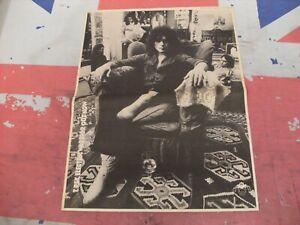 "MARC BOLAN & T.REX ""Electric Warrior"" New LP 1971 Original MM ADVERT/POSTER"