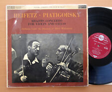 SB 2140 Heifetz Piatigorsky Brahms Concerto Cello & Violin RCA ED1 STEREO NM/VG
