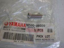 YAMAHA NOS DT50 FZ750 FZR1000 1988  SCREW, PAN HEAD 98580-06020-00 #33