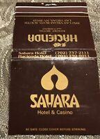 Vintage Hacienda Sahara Hotel Matchbook #400 Las Vegas NV Free Ship
