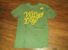 NIKE Regular Fit OREGON Ducks WIN THE DAY Short Sleeve T Shirt Sz Small S