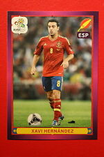 Panini EURO 2012 N. 308 ESPANA HERNANDEZ NEW With BLACK BACK TOPMINT!!