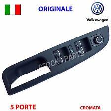 Maniglia pulsantiera vetri cromata VW GOLF 5 6 V VI ORIGINALE interruttori tasti