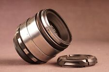 2/58mm Helios 44-2 8 iris blades silver portrait ussr lens for m42 screw mount
