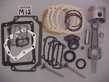 Master m12 12HP ENGINE REBUILD KIT FOR KOHLER M12 w/valves(with correct gaskets)
