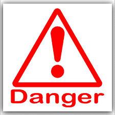 Salute e sicurezza pericolo Adesivo gas tossico AUTOADESIVO BIANCO